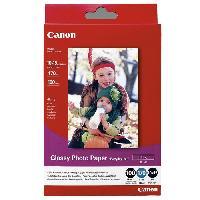 Consommables CANON Papier Photo 10x15cm GP-501 Glacé 210gr 100 Feuilles