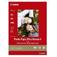 Consommables CANON Papier photo A4 PP-201 Brillant Extra 265gr 20 feuilles