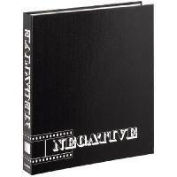 Consommables Classeur pour negatifs - 29 x 32.5cm - Noir