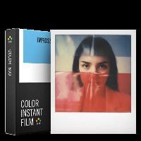 Consommables Impossible - 4514 - Nouveau - pellicule couleurs pour Appareil Polaroid type P600 - cadre blanc - 8 feuilles par boite