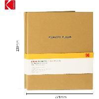 Consommables KODAK 9891313- Album Photo de 20 pages adhésives. Format 23.5x27cm. Marron