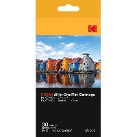 Consommables KODMC30 Pack de 30 feuilles compatible Mini Shot et imprimante Mini 2