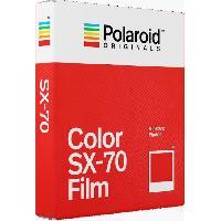 Consommables ORIGINALS Films instantanes couleurs pour appareil photo Polaroid SX70