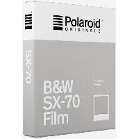 Consommables ORIGINALS Films instantanes noir et blanc pour appareil photo Polaroid SX70