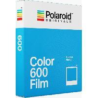 Consommables POLAROID ORIGINALS 4670 Film instantané couleur - Pour appareil photo i-type. 600 et One step