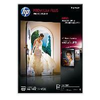 Consommables Papier photo HP Premium Plus. brillant. 300 g/m2. A4. 20 feuilles (CR672A)