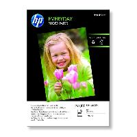 Consommables Papier photo brillant HP Everyday - 100 feuilles-A4-210 x 297 mm -Q2510A-