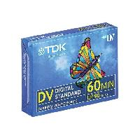 Consommables TDK Lot de 5 Mini cassette vidéo DVM 60ME - 5X60 min Tcworks