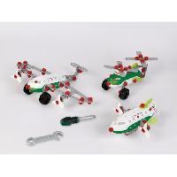 Construction - Modelisme - Maquette - Modele Reduit A Construire BOSCH Mini - Set de construction Aircraft Team 3-en-1