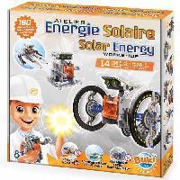 Construction - Modelisme - Maquette - Modele Reduit A Construire BUKI FRANCE Energie solaire 14 en 1