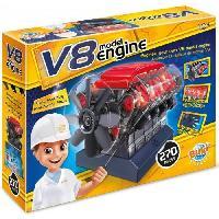 Construction - Modelisme - Maquette - Modele Reduit A Construire BUKI FRANCE Moteur V8
