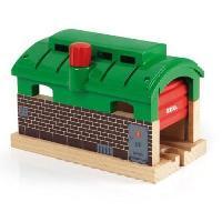 Construction - Modelisme - Maquette - Modele Reduit A Construire Brio World Tunnel Garage - Accessoire pour circuit de train en bois - Ravensburger - Mixte des 3 ans - 33574