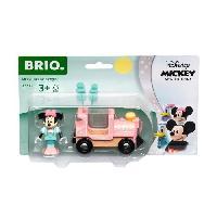 Construction - Modelisme - Maquette - Modele Reduit A Construire DISNEY Brio Minnie Mouse & Locomotive - Train sans pile pour circuit de train en bois - Ravensburger - Des 3 ans - 32288
