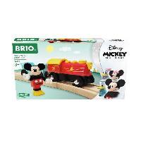 Construction - Modelisme - Maquette - Modele Reduit A Construire DISNEY Brio Train a pile Mickey Mouse - Train sans pile pour circuit de train en bois - Ravensburger - Des 3 ans - 32265