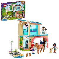Construction - Modelisme - Maquette - Modele Reduit A Construire LEGO 41446 Friends La Clinique Vétérinaire de Heartlake City Set de Jeu de Sauvetage D'Animaux Minidolls Mia. Savannah et Donna