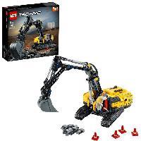 Construction - Modelisme - Maquette - Modele Reduit A Construire LEGO 42121 Technic Pelleteuse. Jeu de Construction d'un Véhicule de Chantier. Modele 2 en 1. pour les Enfants de 8 Ans et +
