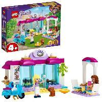 Construction - Modelisme - Maquette - Modele Reduit A Construire LEGO 4+ Friends 41440 La Boulangerie de Heartlake City Set de Jeu avec Les Minidolls Stéphanie et Olivia