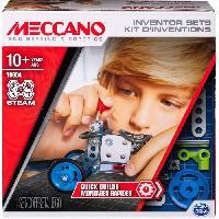 Construction - Modelisme - Maquette - Modele Reduit A Construire MECCANO Kit d'inventions ?  Set 1 Montages rapides