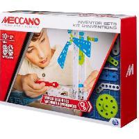 Construction - Modelisme - Maquette - Modele Reduit A Construire MECCANO Kit d'inventions ?  Set 3 Engrenages