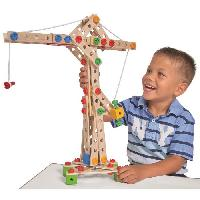 Construction - Modelisme - Maquette - Modele Reduit CONSTRUCTION 170pcs Maxi Grue 5en1