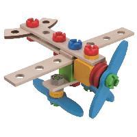 Construction - Modelisme - Maquette - Modele Reduit CONSTRUCTION 40 Pcs Avion 2en 1