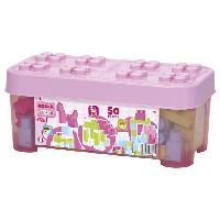 Construction - Modelisme - Maquette - Modele Reduit Coffret 50 Pieces Rose Maxi Abrick