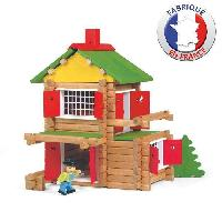 Construction - Modelisme - Maquette - Modele Reduit JEUJURA Mon Chalet en Bois 135 pieces