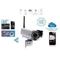 Construction Reseau Camera IP HD Cloud Wifi Fixe Exterieure