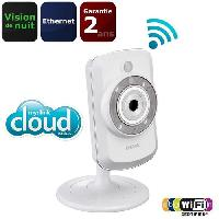 Construction Reseau D-Link Camera IP WiFi Cloud avec vision de nuit x1