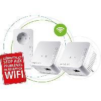 Construction Reseau DEVOLO CPL Magic 1 WiFi mini Multiroom Kit - 1200 Mbit-s