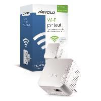 Construction Reseau DEVOLO CPL Wi-Fi 550 Mbit/s Modele 9625 dLAN 550 WiFi