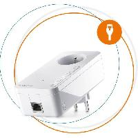 Construction Reseau DEVOLO Magic 2 LAN - Extension  - 1 adaptateur CPL - 2400 Mbit/s