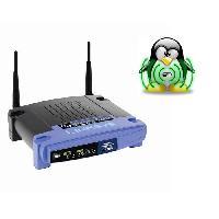 Construction Reseau LINKSYS WRT54GL Routeur sans fil Wifi 54G Open source avec switch 4 ports