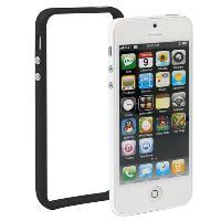 Coque - Bumper - Facade Telephone Bumper avec boutons -Noir- pour Apple iPhone 5 - ADNAuto