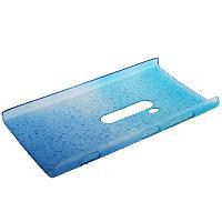 Coque - Bumper - Facade Telephone Coque Arriere de protection Gouttes d Eau pour Nokia Lumia 920 - Baby Blue
