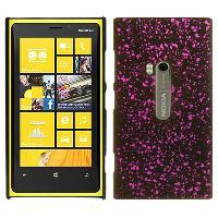 Coque - Bumper - Facade Telephone Coque Arriere de protection Starlight pour Nokia Lumia 920 - Magenta - ADNAuto
