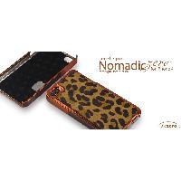 Coque - Bumper - Facade Telephone Coque NomadicZero - Tanned Leopard - Pour iPhone 4 et 4S - ION