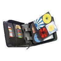 Coque - Housse - Etui Photo - Optique CASE LOGIC 3200049 Classeur CD - Noir