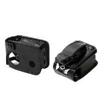 Coque - Housse - Etui Photo - Optique GP401 Etui de Protection Simili-cuir pour cameras sportives - Noir