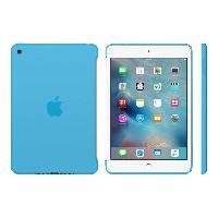 Coque - Housse Coque de protection en silione pour iPad mini 4 - Bleu
