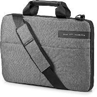 Coque - Housse HP Sacoche pour ordinateur portable - Signature Slim Topload - 14 - Noir Gris