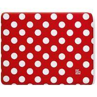Coque - Housse MOBILITY LAB Ipad Pouch Polka Dot Rouge