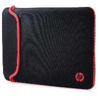Coque Pour Ordinateur Portable - Housse Pour Ordinateur Portable Housse de protection ordinateur portable - Chroma reversible - 13.3 - Rouge Noir