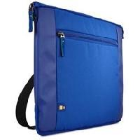 Coque Pour Ordinateur Portable - Housse Pour Ordinateur Portable Sacoche Intrata ultra-fine nylon bleu pour ordinateur 156' -INT115B