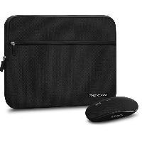 Coque Pour Ordinateur Portable - Housse Pour Ordinateur Portable THOMSON Pack Sacoche PC + Souris sans Fil