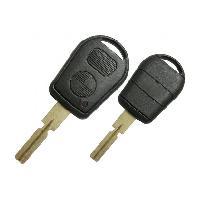 Coques de clefs BMW26 - Coque de cle et lame compatible avec BMW 2 boutons