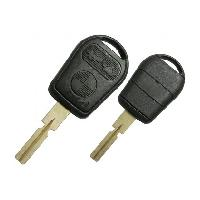 Coques de clefs BMW36 - Coque de cle et lame compatible avec BMW 3 boutons - Switch