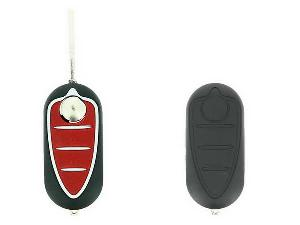 Coques de clefs Coque Cle Adaptable ALFA ROMEO 3 BOUTONS LAME FRAISEE RETRACTABLE 8MM