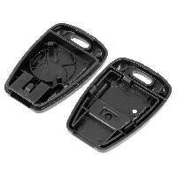 Coques de clefs Coque de cle pour Fiat noir - ADNAuto