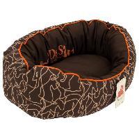 Corbeille - Panier - Coussin - Hamac Corbeille ovale en ouatine DetS Horson T45 - Pour chien
